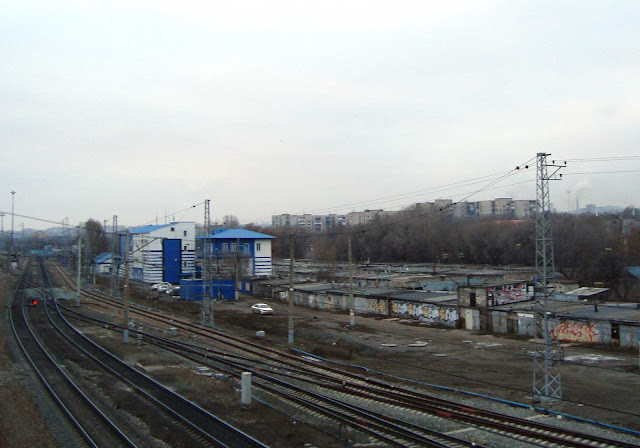 г. Самара, вид на Безымянку со станции