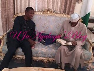 JUST IN: Buhari Hosts Pastor Adeoye In UK