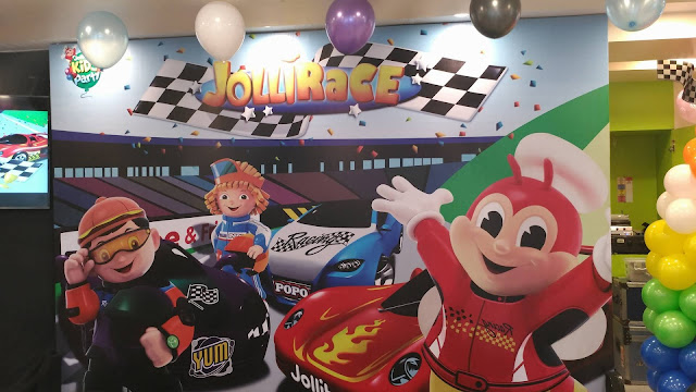 FUN up to SPEED on Jollibee's new party theme
