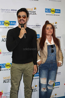Piaa Bajpai launches TB Awareness Campaign with Darshan Kumaar 25.JPG
