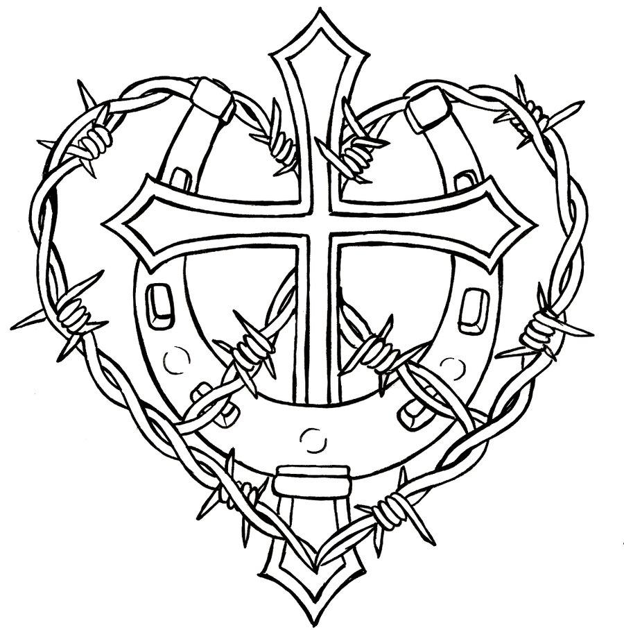 TATTOO FONTS: Barbed Wire Tattoos