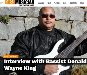 My Interview Bass Musician Magazine