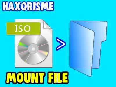 Cara Mount File ISO pada Windows 7 Terbaru