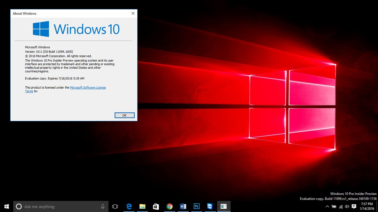 Windows  Preview Build