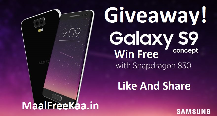 Win Free Samsung Galaxy S9 Plus - Freebie Giveaway Contest - Win