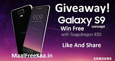 Free Samsung Galaxy S9 Plus Phone