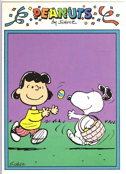 Auguri Di Buona Pasqua Peanuts Powermall