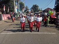 Gerak Jalan Meramaikan Bulan Kemerdekaan Kec Rambipuji Kab Jember