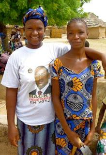 Ramatou and her daughter Miriama
