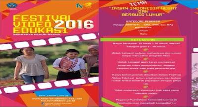 Festival Video Edukasi 2016