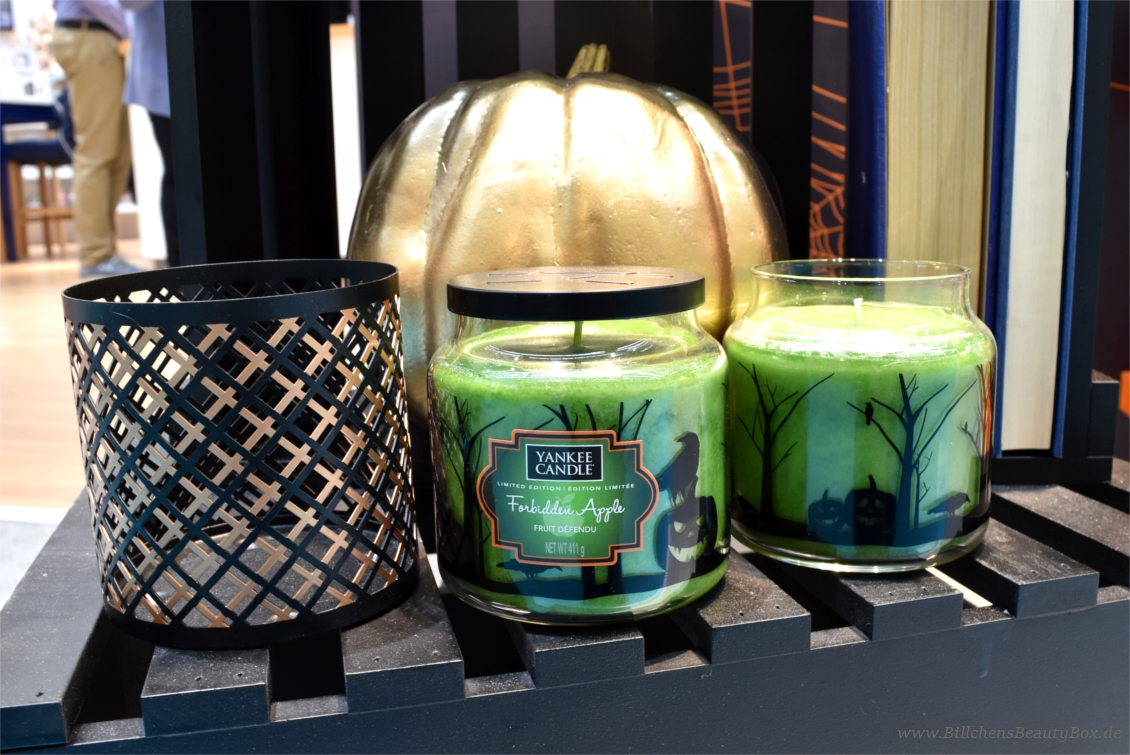 Yankee Candle - Halloween Kollektion 2017, Düfte, Accessoires und Duftbeschreibungen