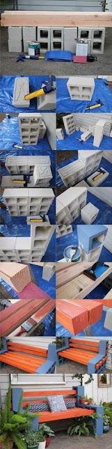 Ideas para reciclar bloques de cemento de la construcción