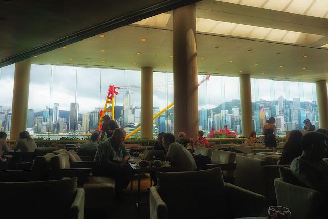 インターコンチネンタルホテル香港のロビーラウンジ