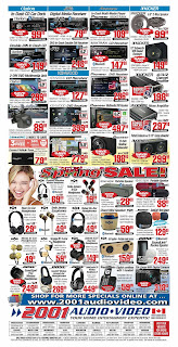 2001 Audio Video Flyer valid April 13 - 19, 2018