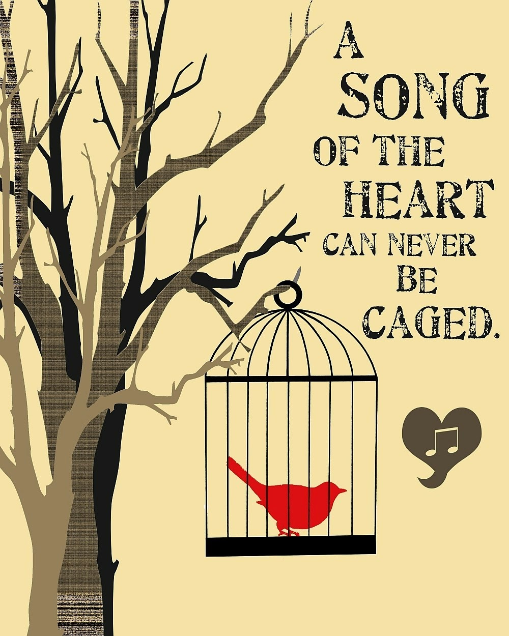 Caged Bird Questions and Answers