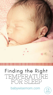 Finding the Right Temperature for Sleep | Baby sleep | sleep temperature | #babysleep