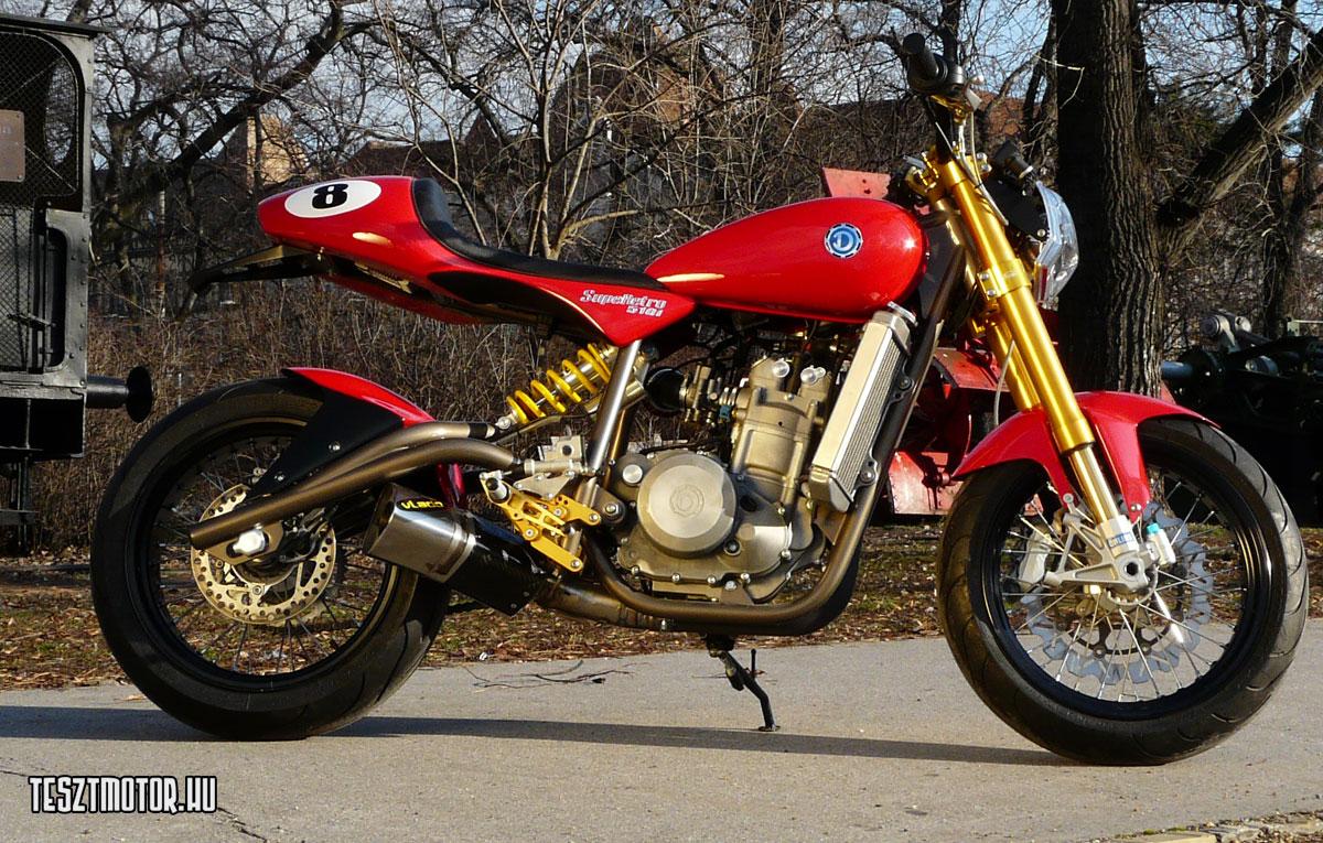 cafe racer modern danuvia motorcycles 510i hungarian cylinder single thumpers motorcycle engine stroke custom bike