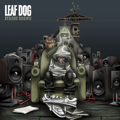 Leaf Dog - Dyslexic Disciple - Album Download, Itunes Cover, Official Cover, Album CD Cover Art, Tracklist