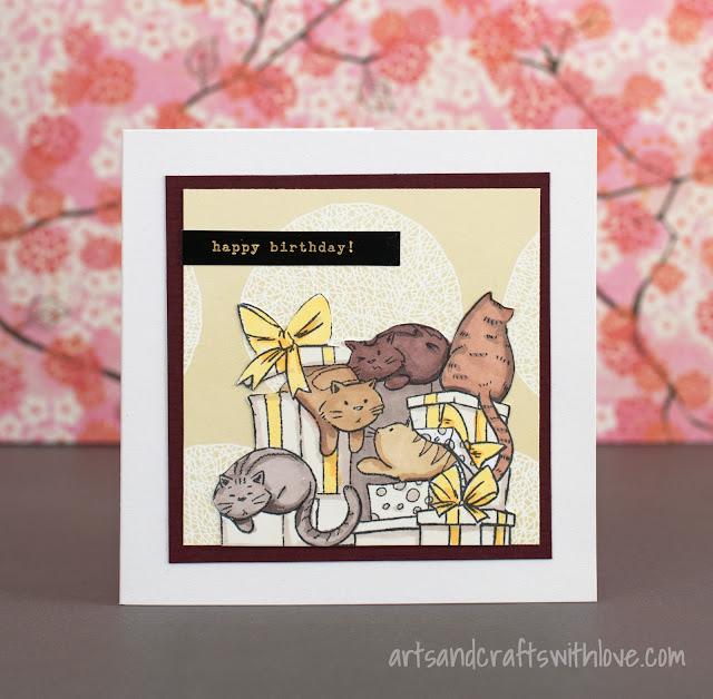 Purrfect birthday cards