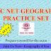 UGC-CBSE NET (GEOGRAPHY-80) PRACTICE SET-6