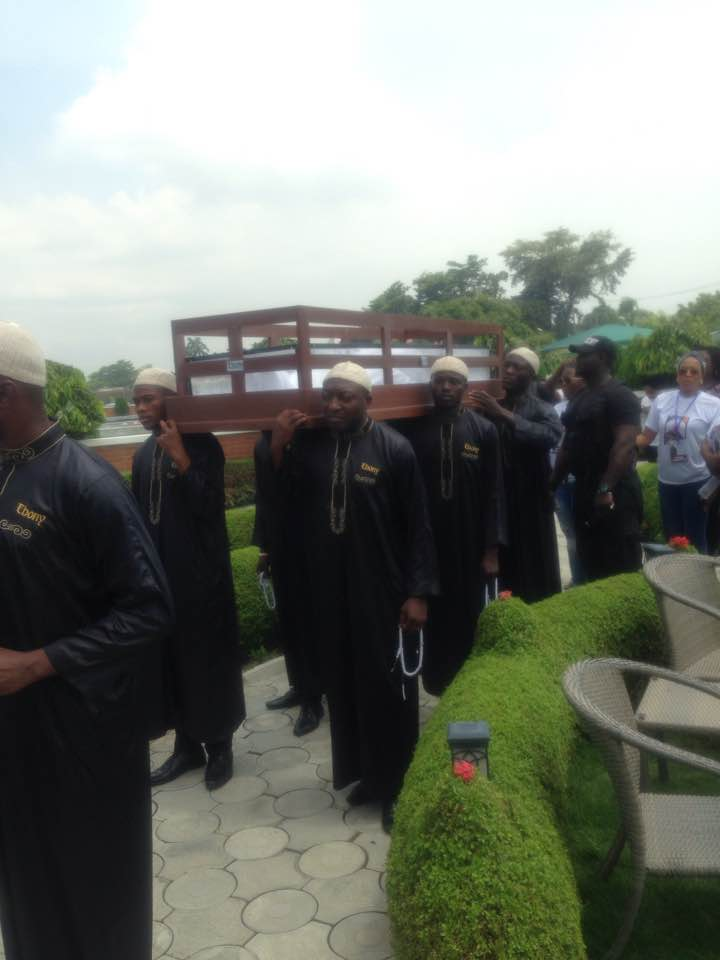 Actress Mojisola Olaiya's burial
