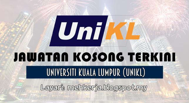 Jawatan Kosong Terkini 2016 di Universiti Kuala Lumpur (UniKL)