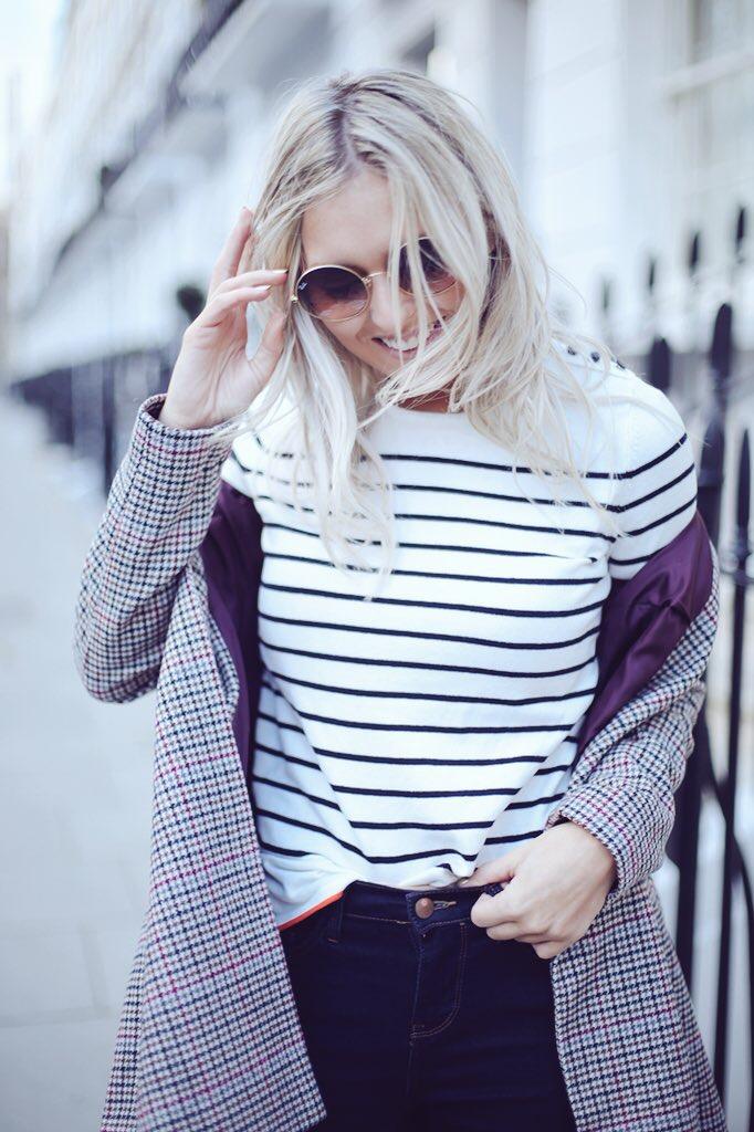 fashion photography stripe top