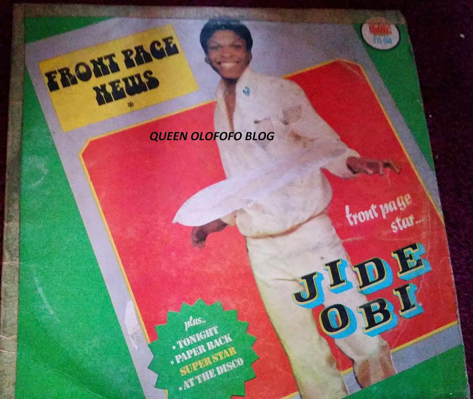 Jide Obi again with his good looks was a Nigerian old school favourite