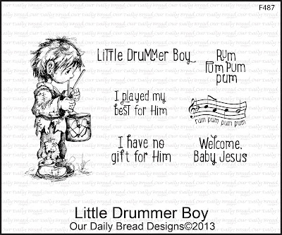 Stamps - Our Daily Bread Designs Little Drummer Boy