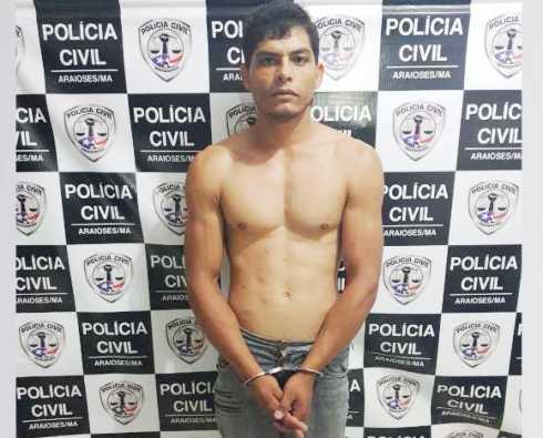 ARAIOSES - Homem Acusado de Latrocínio em Goiás é Preso pela Polícia Civil