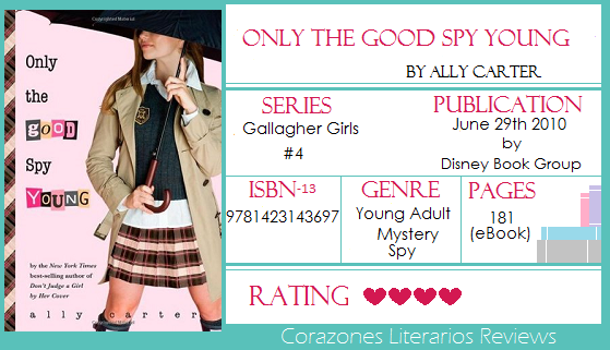 #BookReview: Only Good Spy Young by Ally Carter