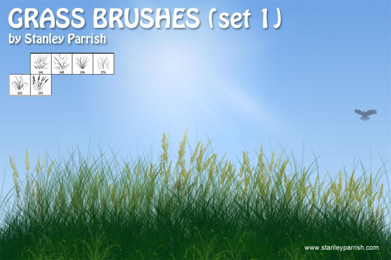 Free grass brush