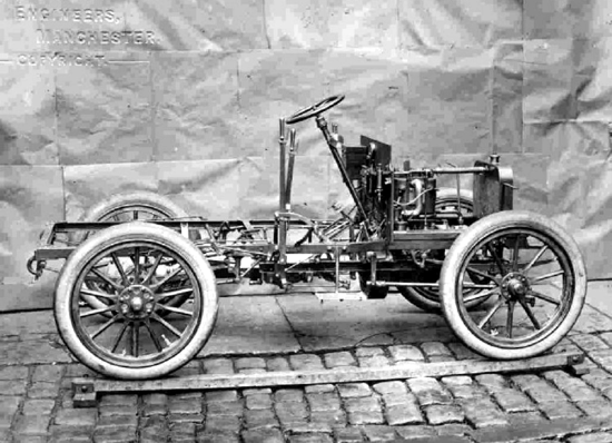 Royce 10 hp prototype chassis 1904