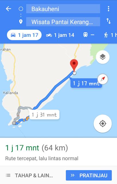 lokasi pantai ketang mas