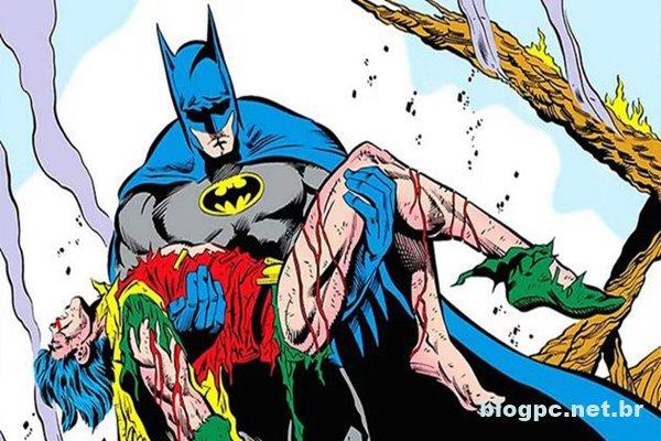 A Arlequina admitiu ter matado o Robin