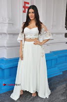 Telugu Actress Amyra Dastur Stills in White Skirt and Blouse at Anandi Indira Production LLP Production no 1 Opening  0007.JPG
