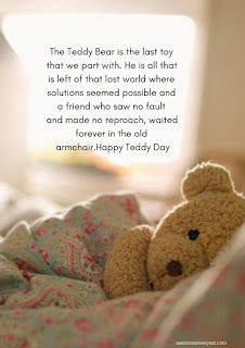Heart Touching Teddy Day Quotes to send your girlfriend