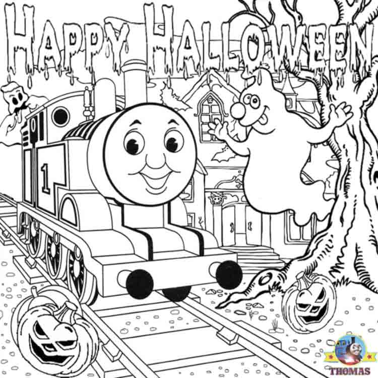 - Train Thomas The Tank Engine Friends Free Online Games And Toys For Kids:  Free Printable Halloween Ideas Kids Activities Thomas Coloring Sheets