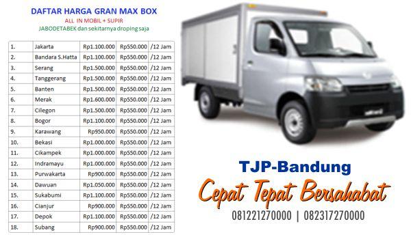 Jasa sewa mobil box Bandung murah