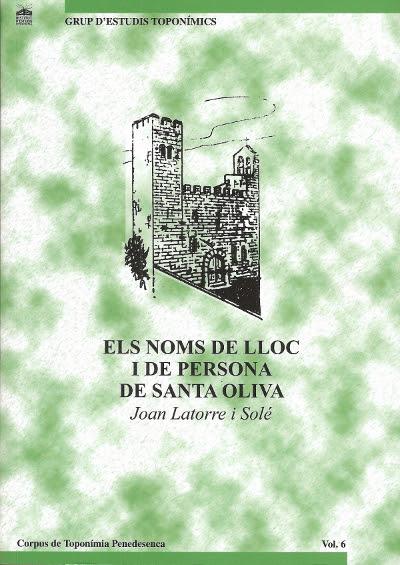 Esguard de Dona - Presentació llibre Els Noms de Lloc i de Persona de Santa Oliva de Joan Latorre