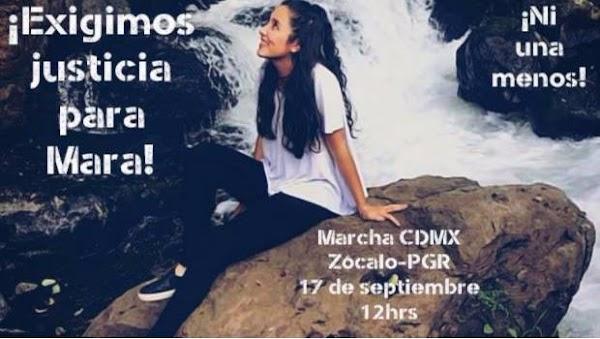 Alistan marcha en la CDMX a favor de Mara Castilla