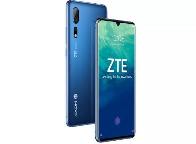 شركة ZTE تطلق أول هاتف 5G بأسم Axon 10 Pro 5G