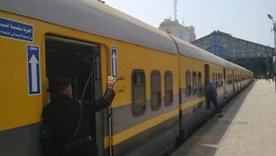 قطار ابو قير الاسكندرية