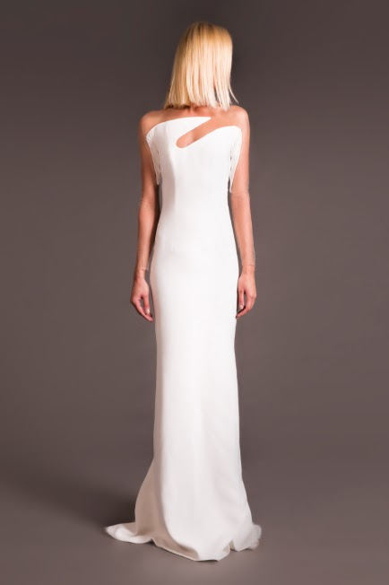Dress worn by Giuliana Rancic at 72nd Golden Globes
