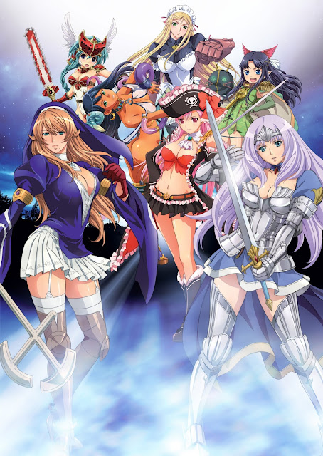 [Review Anime] Queen's Blade: Rebellion