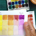 Cartela de 2 cores - Aquarela ( 2 Color Chart - Watercolor) -VIDEO
