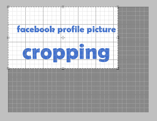 Facebook profile picture cropping