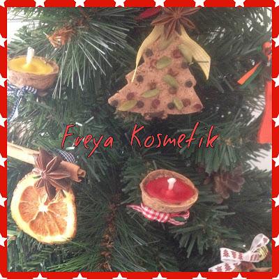 Freya kosmetik candele in guscio di noce e arance for Arance essiccate decorazioni