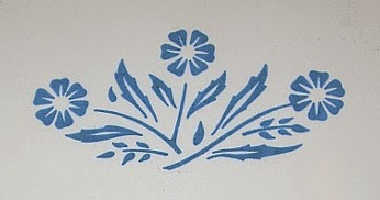 Corningware 411 Known Blue Cornflower Pieces