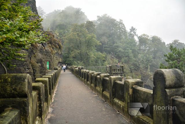 Bastei - główna atrakcja turystyczna Szwajcarii Saksońskiej